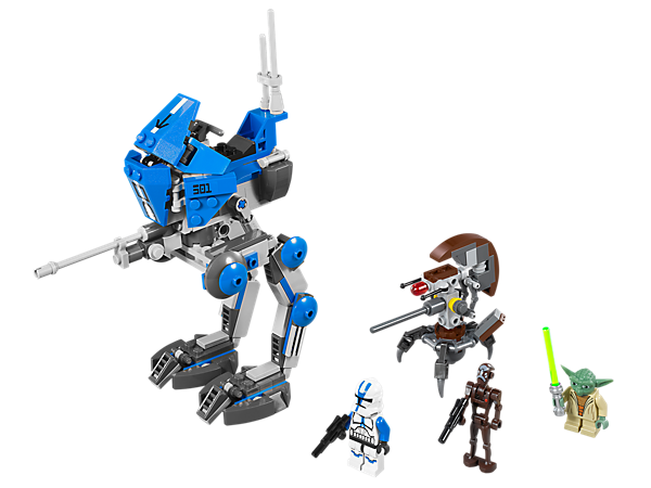 <p>Ride into battle on the AT-RT™ with<i> Star Wars™</i>: <i>The Clone Wars</i>™ Yoda and 501st Clone Trooper and repel the Droid attack!</p>