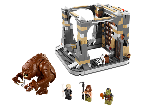 <p>Help Luke Skywalker and the Gamorrean guard find the hidden Rancor™ Pit key to escape the jaws of the first-ever LEGO® <i>Star Wars™ </i>rancor!</p>
