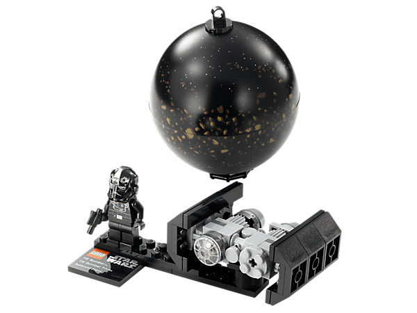 Build, collect and display the devastating TIE Bomber™ mini-model, TIE pilot minifigure and hangable Asteroid Field™!