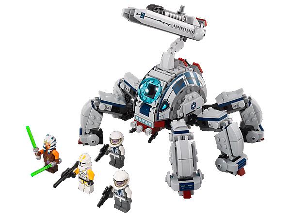 Baue den mächtige Umbaran MCH™ mit beweglichen Beinen, Raketenwerfer, schwenkbarer Kanone und erlebe spannende Abenteuer!