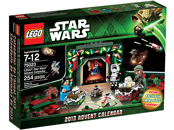 <p>Count down to Christmas with the LEGO® <i>Star Wars</i>™ Advent Calendar, featuring 24 Star Wars-themed gifts including exclusive minifigures!</p>