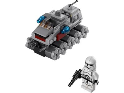 Explore product details and fan reviews for buildable toy Clone Turbo Tank™ 75028 from Star Wars TM. Buy today with The Official LEGO® Shop Guarantee.