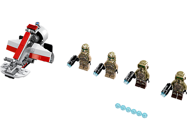 Explore product details and fan reviews for buildable toy Kashyyyk Troopers™ 75035 from Star Wars TM. Buy today with The Official LEGO® Shop Guarantee.