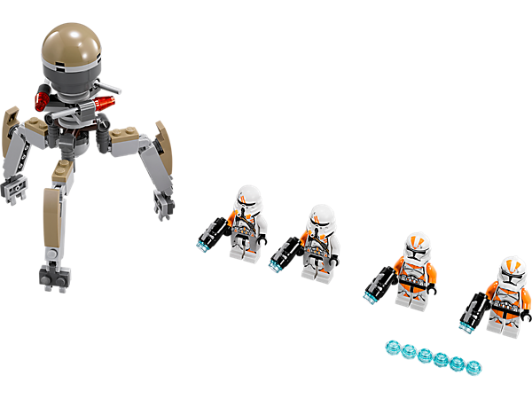 Explore product details and fan reviews for buildable toy Utapau Troopers™ 75036 from Star Wars TM. Buy today with The Official LEGO® Shop Guarantee.