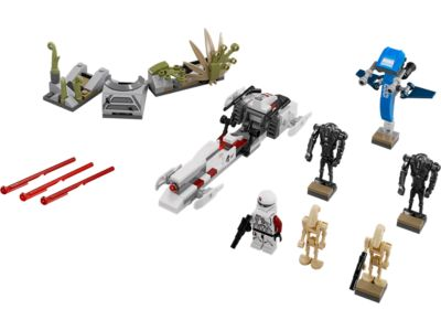 Explore product details and fan reviews for buildable toy Battle on Saleucami™ 75037 from Star Wars TM. Buy today with The Official LEGO® Shop Guarantee.