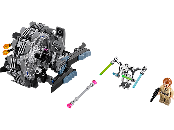 Explore product details and fan reviews for buildable toy General Grievous- Wheel Bike™ 75040 from Star Wars TM. Buy today with The Official LEGO® Shop Guarantee.