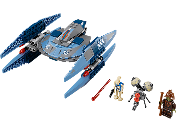 Explore product details and fan reviews for buildable toy Vulture Droid™ 75041 from Star Wars TM. Buy today with The Official LEGO® Shop Guarantee.
