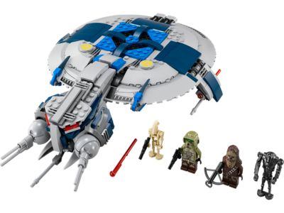 Explore product details and fan reviews for buildable toy Droid Gunship™ 75042 from Star Wars TM. Buy today with The Official LEGO® Shop Guarantee.
