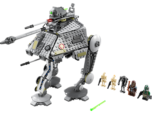 Explore product details and fan reviews for buildable toy AT-AP™ 75043 from Star Wars TM. Buy today with The Official LEGO® Shop Guarantee.