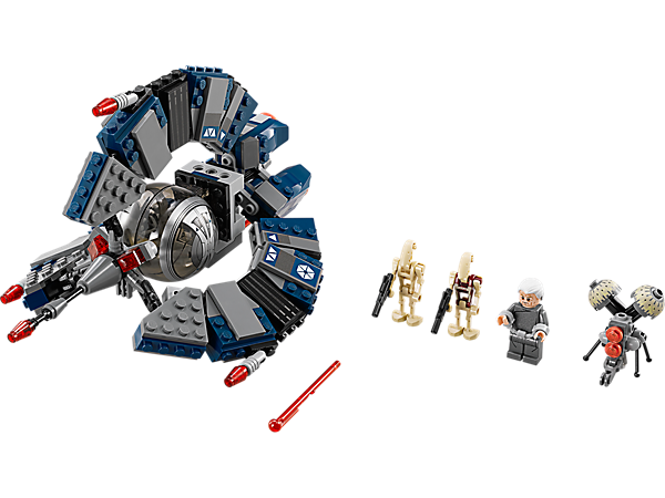 Explore product details and fan reviews for buildable toy Droid Tri-fighter™ 75044 from Star Wars TM. Buy today with The Official LEGO® Shop Guarantee.