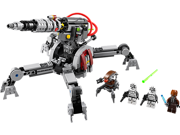 Explore product details and fan reviews for buildable toy Republic AV-7 Anti-Vehicle Cannon 75045 from Star Wars TM. Buy today with The Official LEGO® Shop Guarantee.