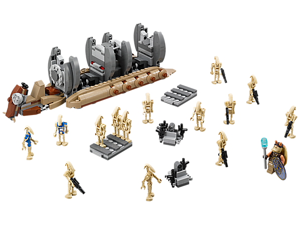 <p>Explore product details and fan reviews for Battle Droid™ Troop Carrier 75086 from Star Wars™. Buy today with The Official LEGO® Shop Guarantee.</p>