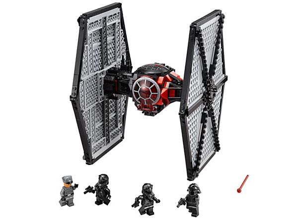 <p>Blast the enemy with the First Order Special Forces TIE fighter™ featuring 2-minifigure opening cockpit, 2 spring-loaded shooters and more.</p>