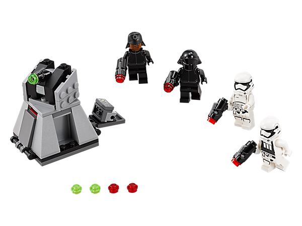 Explore product details and fan reviews for First Order Battle Pack 75132 from Star Wars™. Buy today with The Official LEGO® Shop Guarantee.