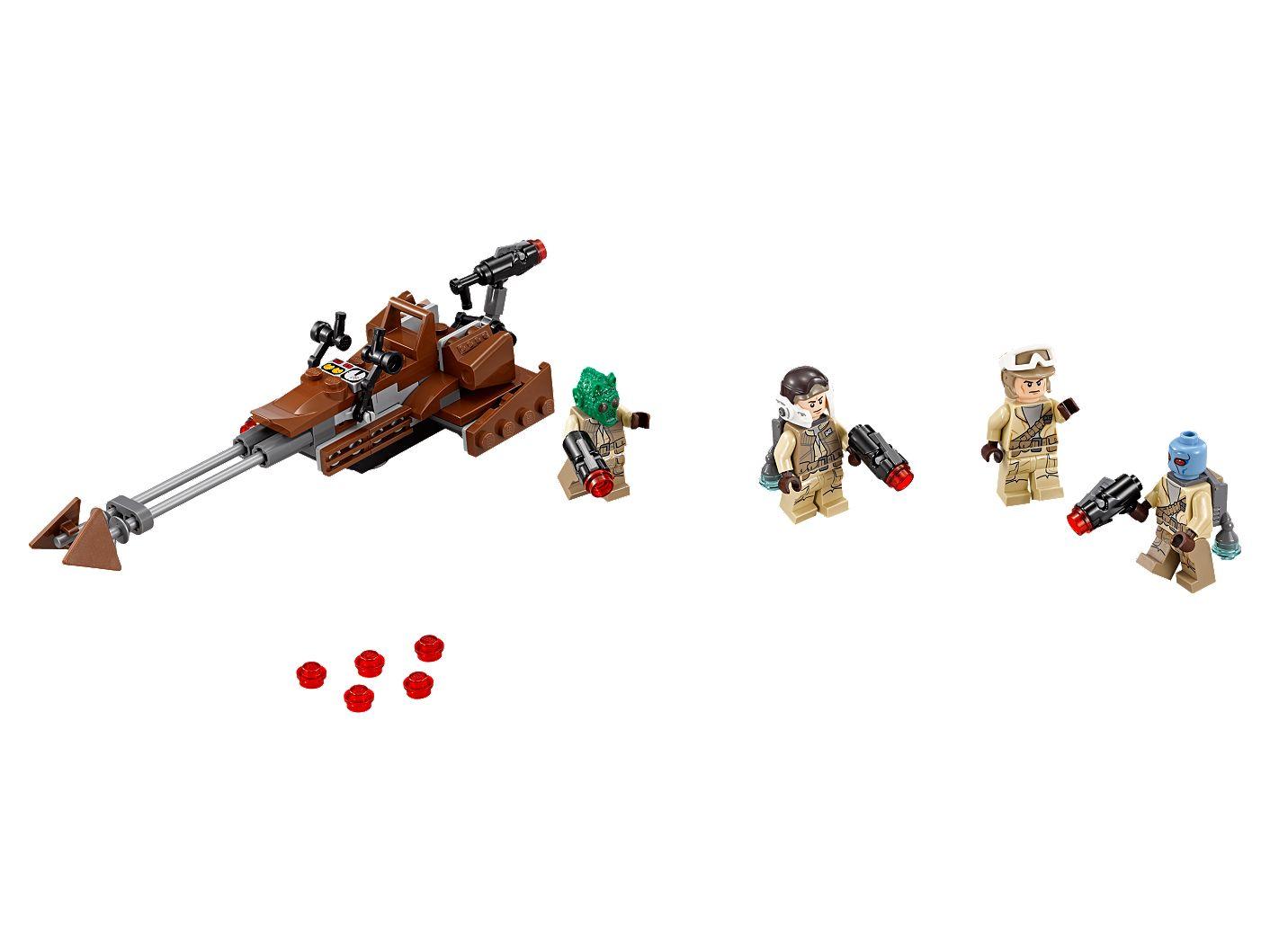 LEGO STAR WARS  MINIFIGURA REBEL TROOPER MODEL III SET 75133 ORIGINAL MINIFIGURE