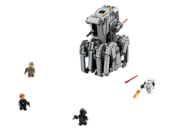 Show the Resistance some cool tech with the First Order Heavy Scout Walker, featuring an opening cockpit, elevating spring-loaded shooters, hidden wheels and 'crawling' legs.