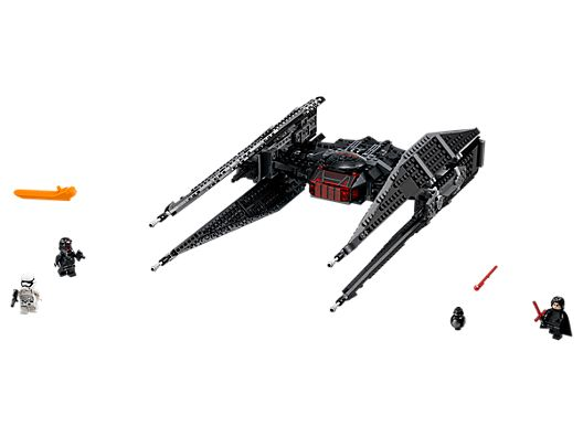 with proper cape from 75179 LEGO® Star Wars™ Kylo Ren Minifig