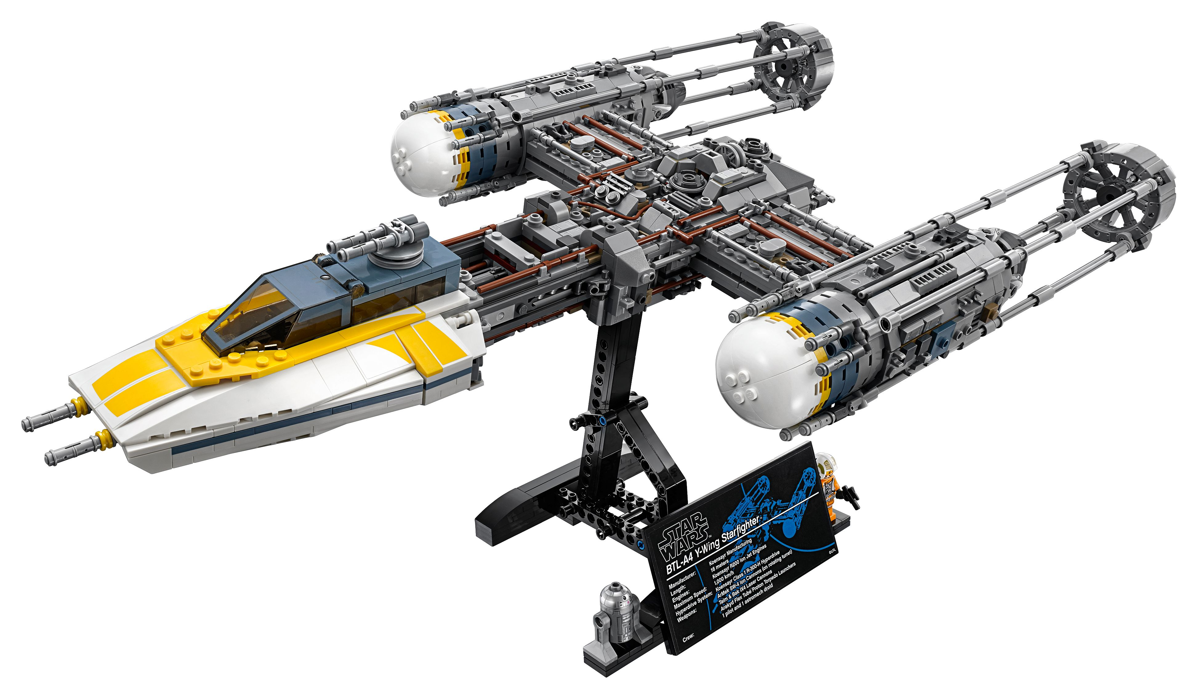 Y Wing Starfighter 75181 Star Wars Buy Online At The Official Lego Shop Us