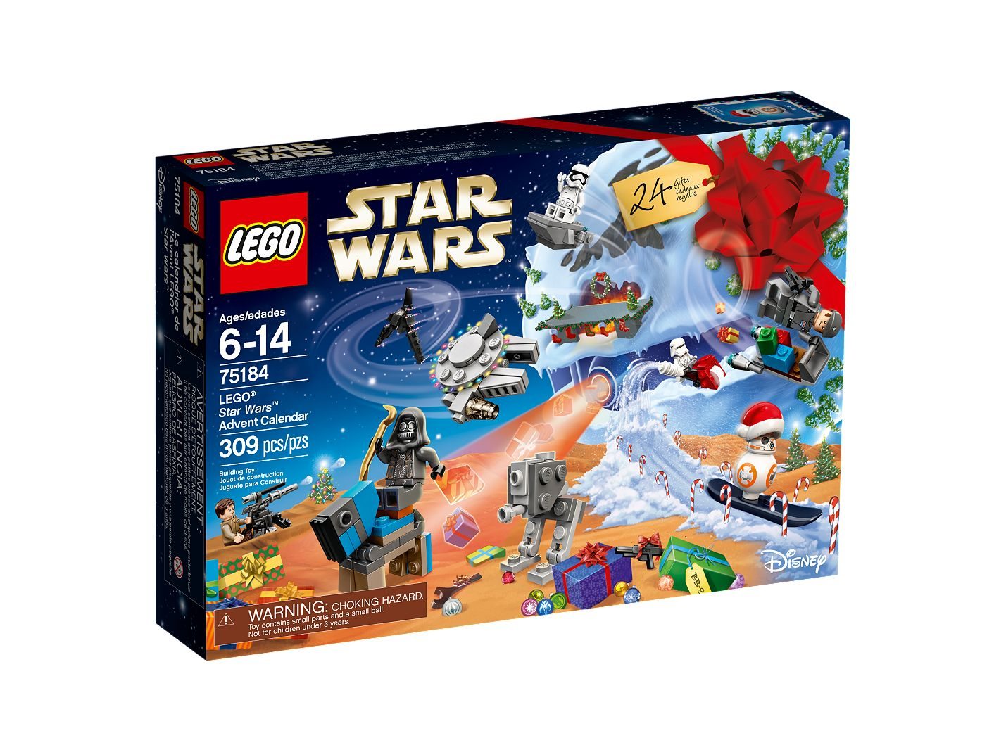 Calendrier Avent Lego Star Wars 2019.Lego Star Wars Advent Calendar 75184 Star Wars Buy Online At The Official Lego Shop Us