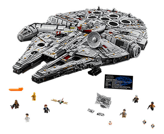 Millennium Falcon™ - 75192 | Star Wars™ | LEGO Shop