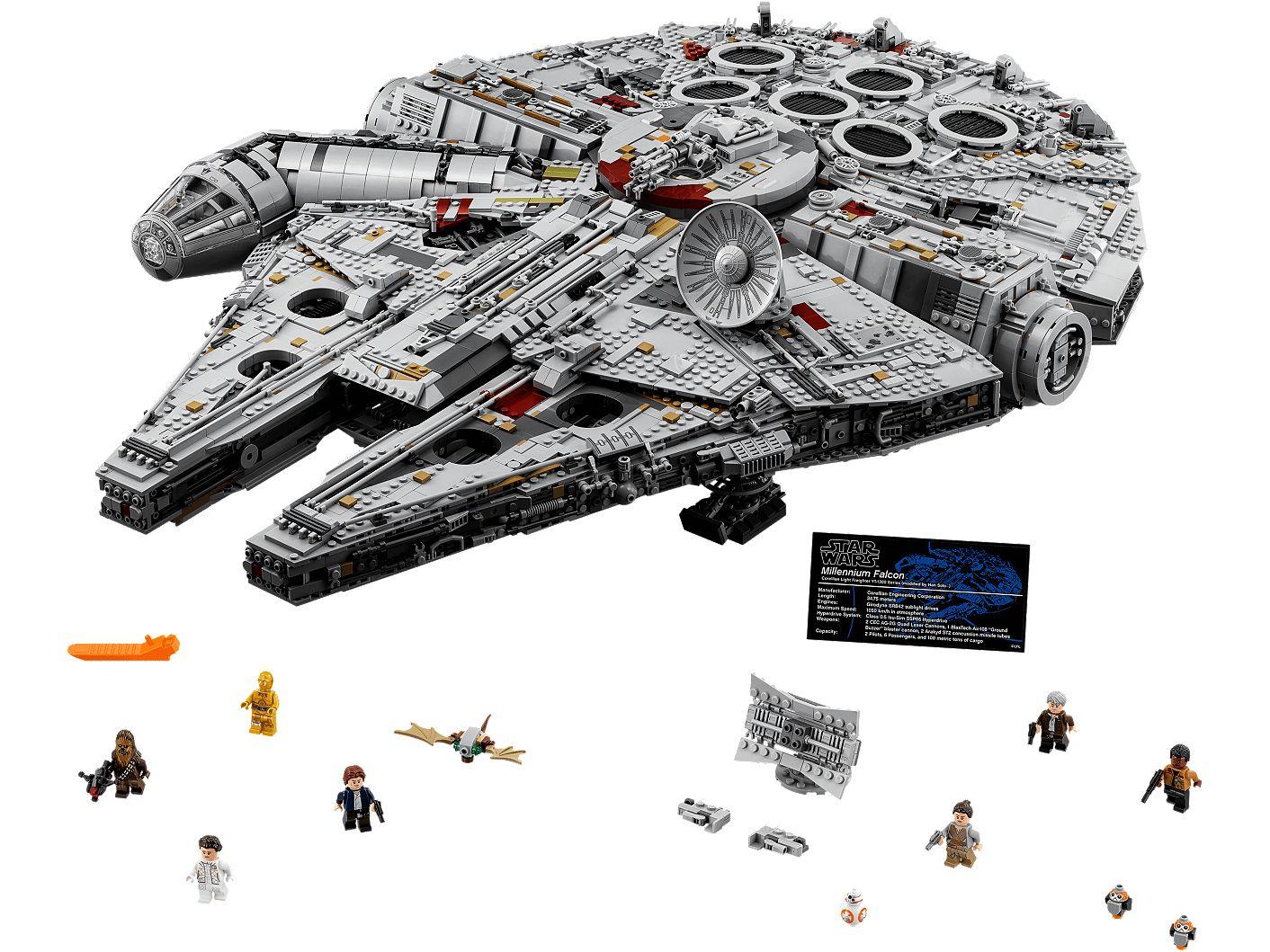 Bauanleitung Lego® 75192 Star Wars Millenium Falcon IL SOLO MANUALE ISTRUZIONI MONTAGGIO