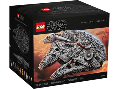 LEGO Star Wars UCS Millennium Falcon and Winter Village Station now ...