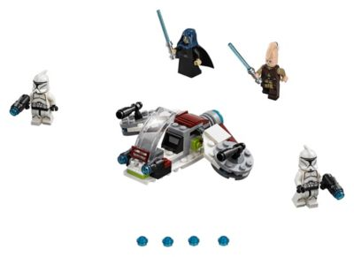 Jedi And Clone Troopers Battle Pack 75206 Star Wars Buy Online At The Official Lego Shop Us