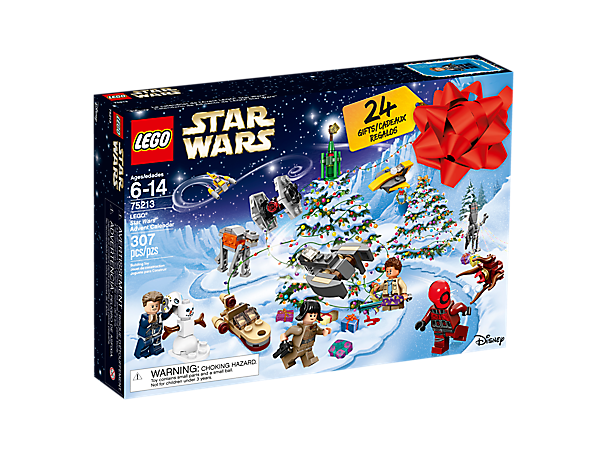 Prepare for a galaxy of festive fun with the LEGO® Star Wars Advent Calendar, with 24 gifts including minifigures, starships, vehicles and other themed collectibles.