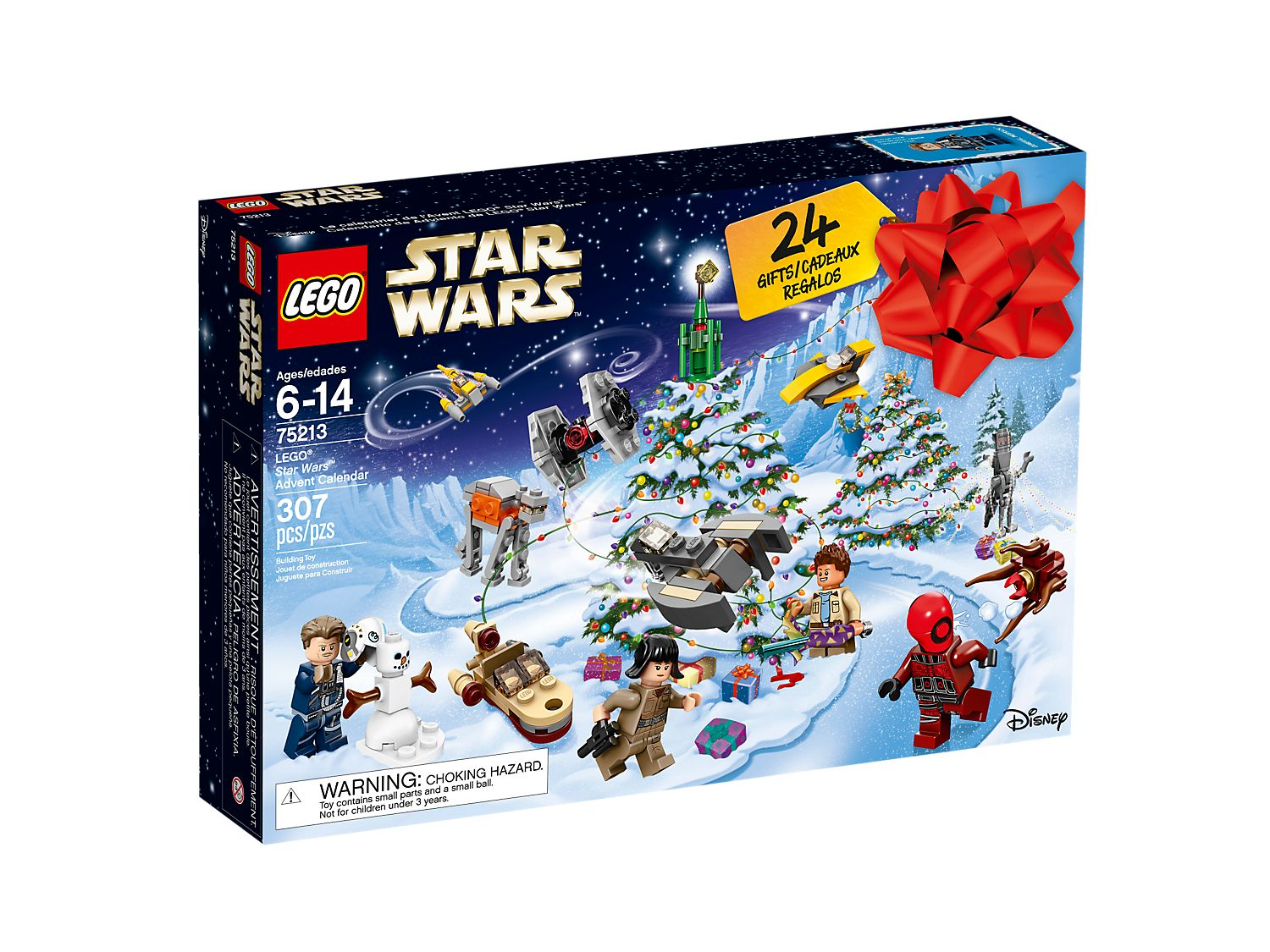Calendrier Star Wars 2019.Lego Star Wars Advent Calendar 75213 Star Wars Buy Online At The Official Lego Shop Gb
