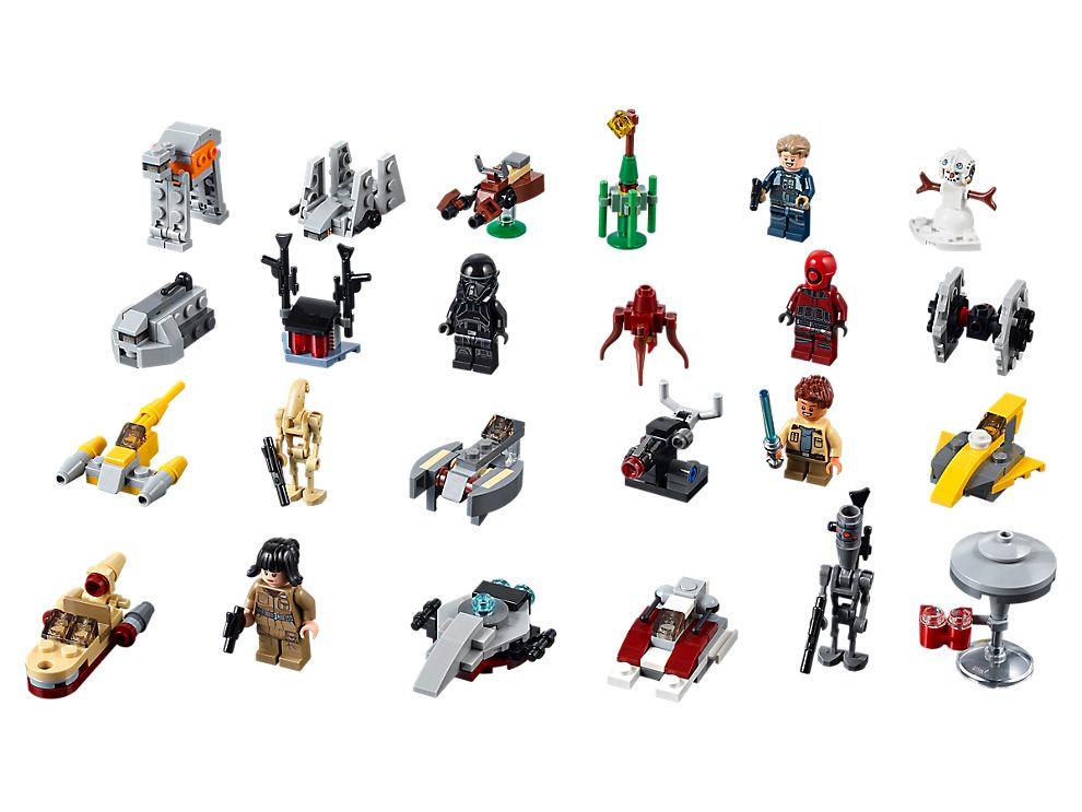 Calendrier Avent Lego City.Calendrier De L Avent Lego Star Wars 75213 Star Wars Boutique Lego Officielle Fr