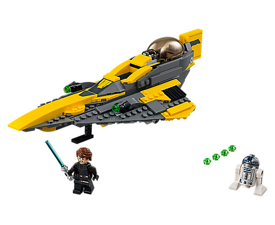Anakin 39 s jedi starfighter 75214 star wars lego shop - Vaisseau star wars anakin ...
