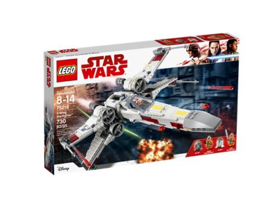 LEGO Star Wars 75218 X-wing Starfighter on Amazon