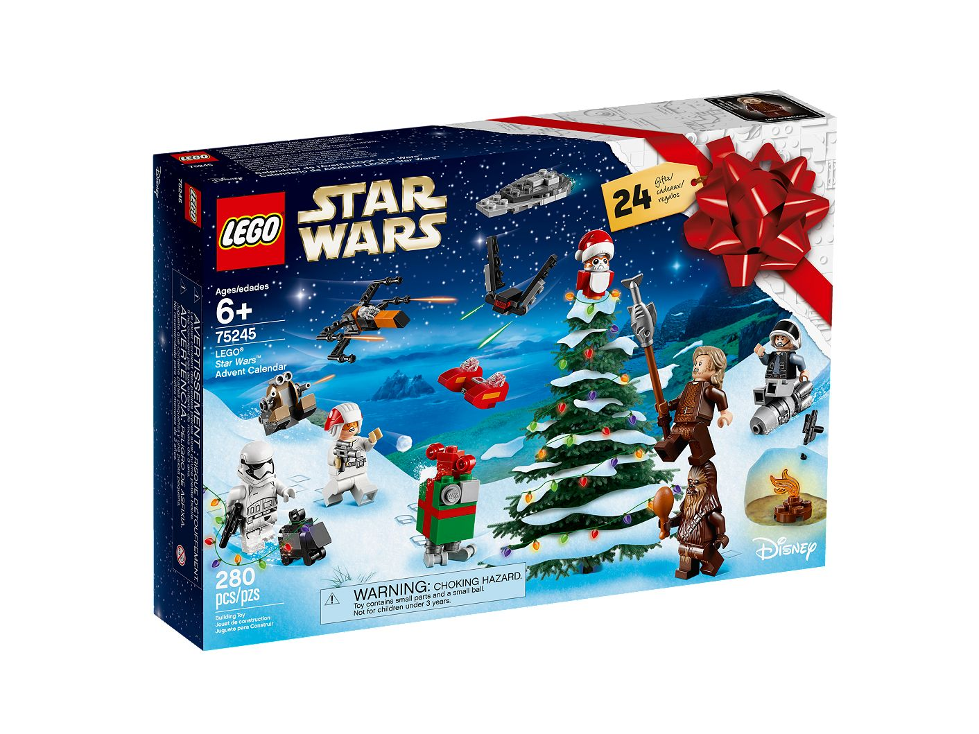 Calendrier Star Wars 2019.Lego Star Wars Advent Calendar 75245 Star Wars Buy Online At The Official Lego Shop Us
