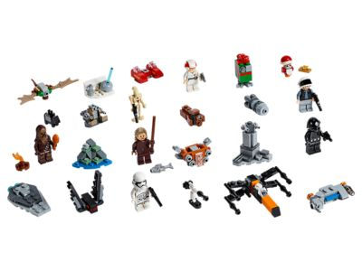 Calendrier Avent Lego Star Wars 2019.Lego Star Wars Advent Calendar
