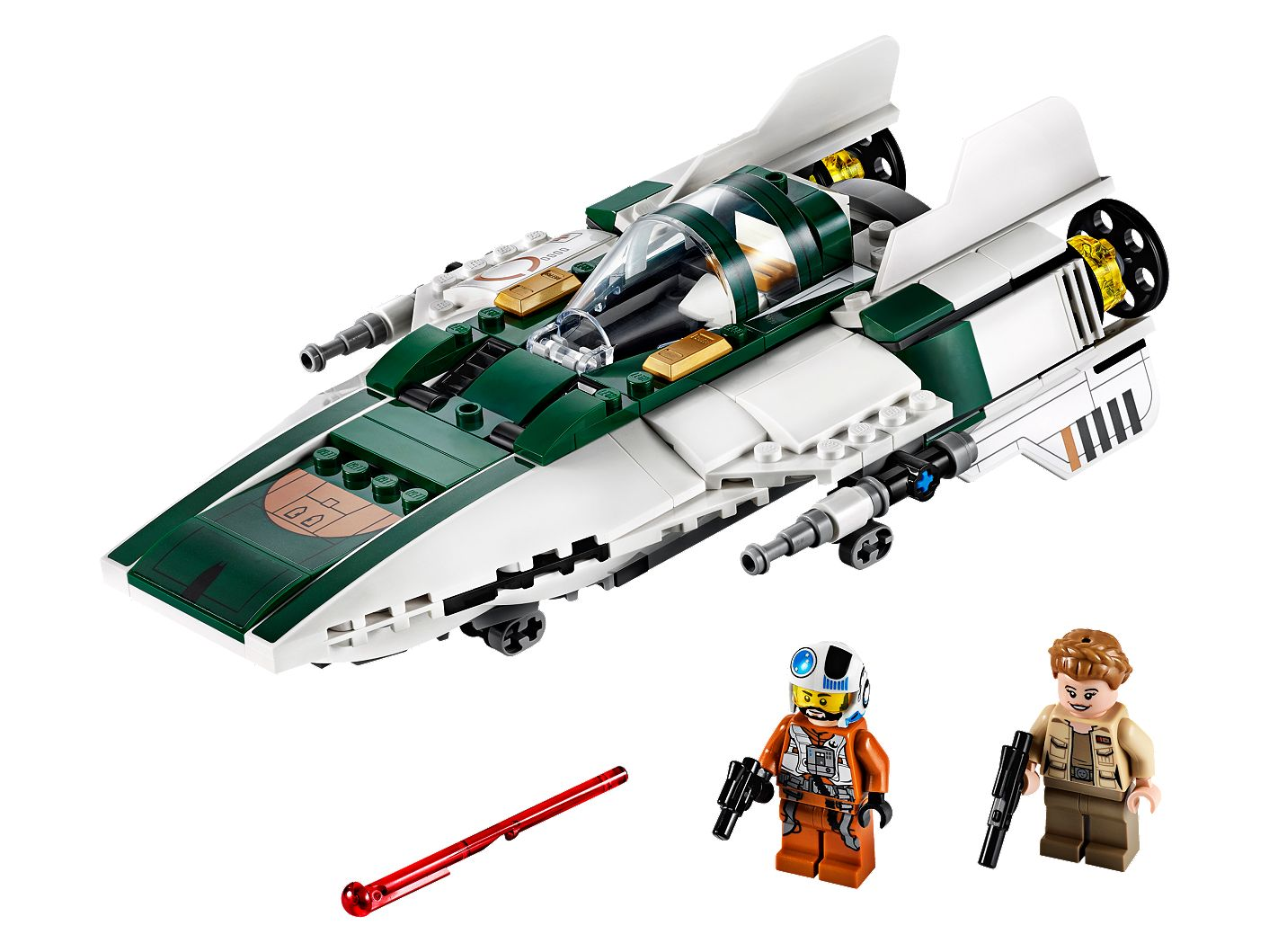 Resistance A-Wing Starfighter™ 75248 | Star Wars™ | Buy online at ...