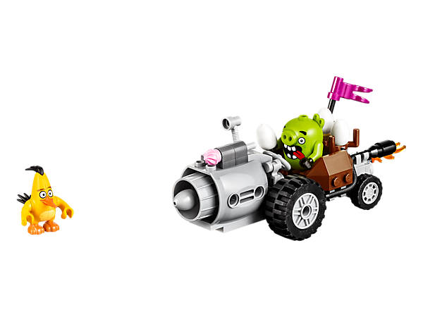 Explore product details and fan reviews for Piggy Car Escape 75821 from Angry Birds. Buy today with The Official LEGO® Shop Guarantee.