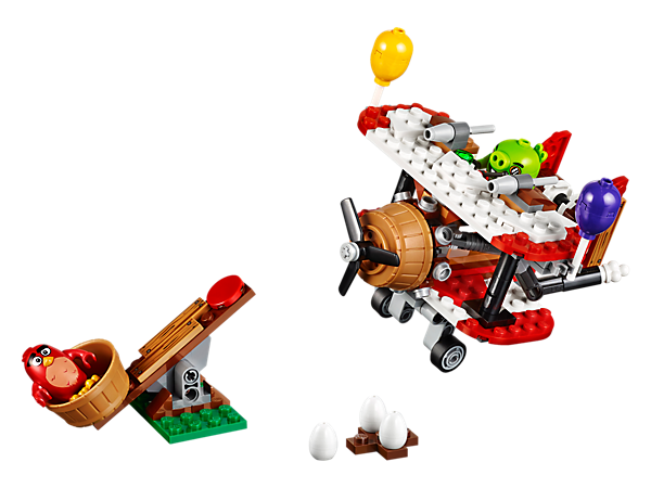 Explore product details and fan reviews for Piggy Plane Attack 75822 from Angry Birds. Buy today with The Official LEGO® Shop Guarantee.