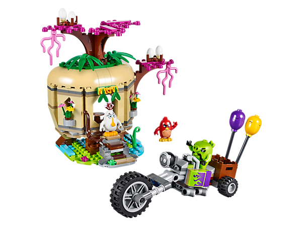 Explore product details and fan reviews for Bird Island Egg Heist 75823 from Angry Birds. Buy today with The Official LEGO® Shop Guarantee.