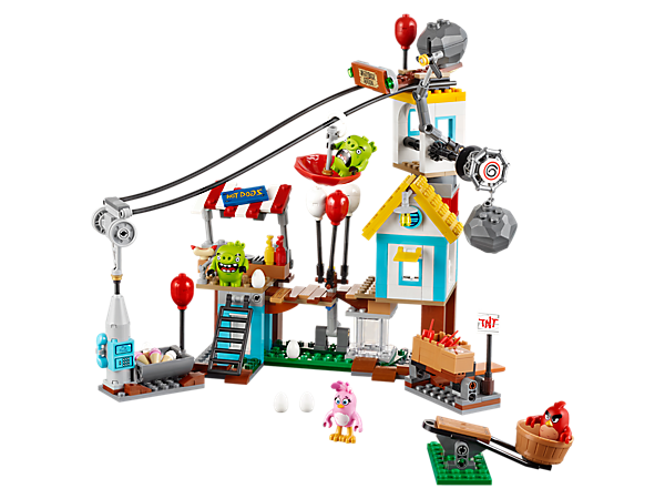 Explore product details and fan reviews for Pig City Teardown 75824 from Angry Birds. Buy today with The Official LEGO® Shop Guarantee.