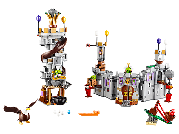 Explore product details and fan reviews for King Pig's Castle 75826 from Angry Birds. Buy today with The Official LEGO® Shop Guarantee.