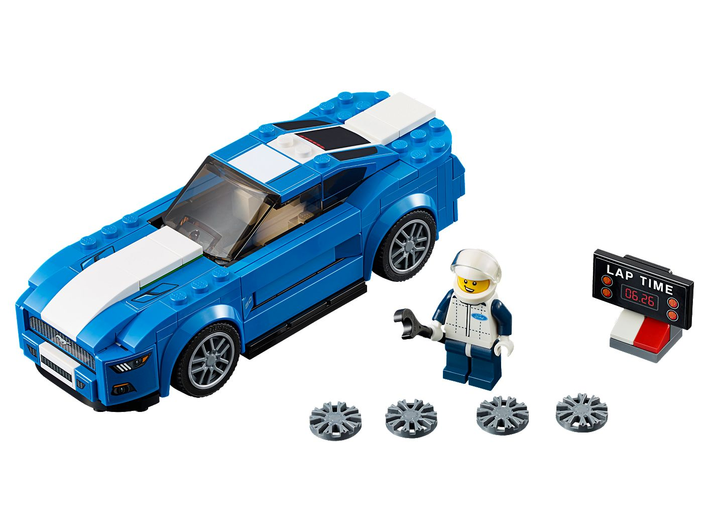 Ford mustang gt 75871 speed champions lego shop
