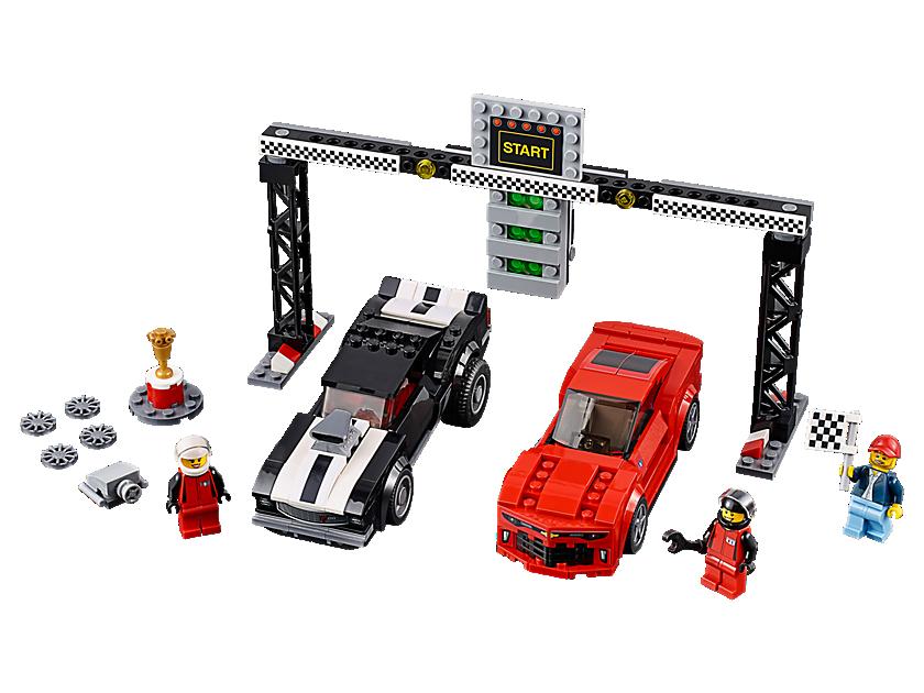 La course des Chevrolet Camaro