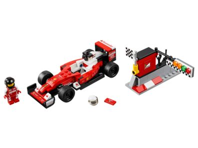 Scuderia Ferrari Sf16 H 75879 Speed Champions Lego Shop