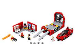 Ferrari FXX K et centre de développement