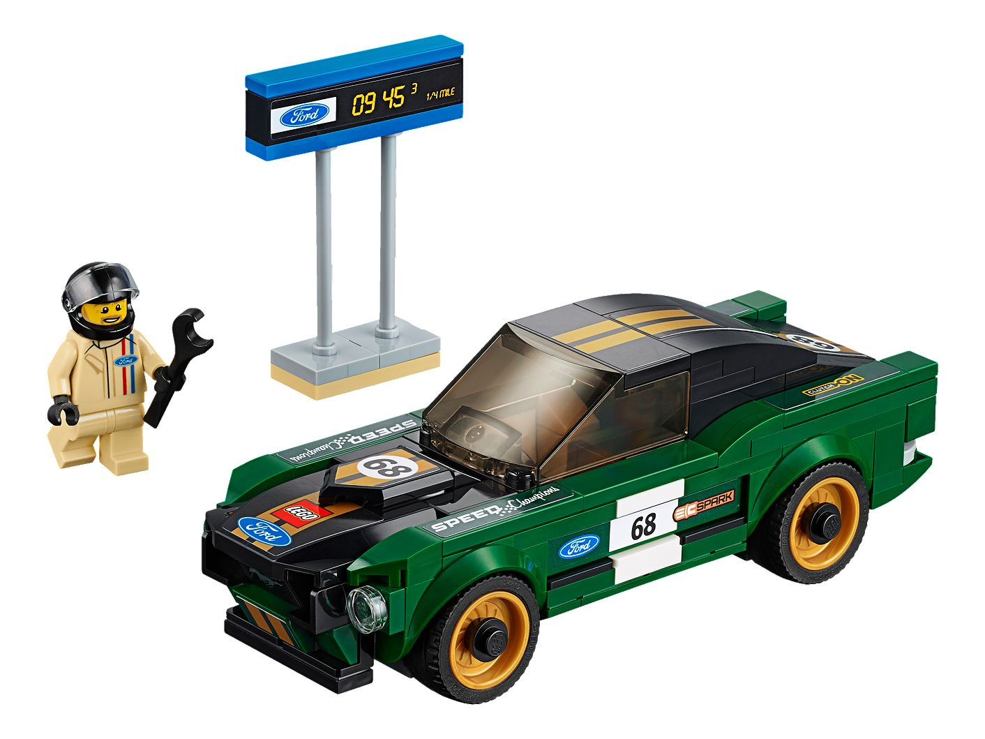1968 ford mustang fastback 75884 speed champions buy online at the official lego shop gb