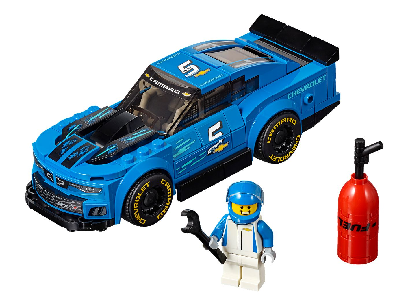 Chevrolet Camaro ZL1 Race Car 75891 | Speed Champions | Buy online at the  Official LEGO® Shop US