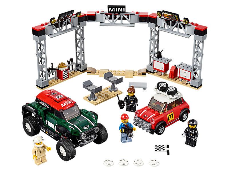 Mini Cooper S Rally 1967 et Mini John Cooper Works Buggy 2018