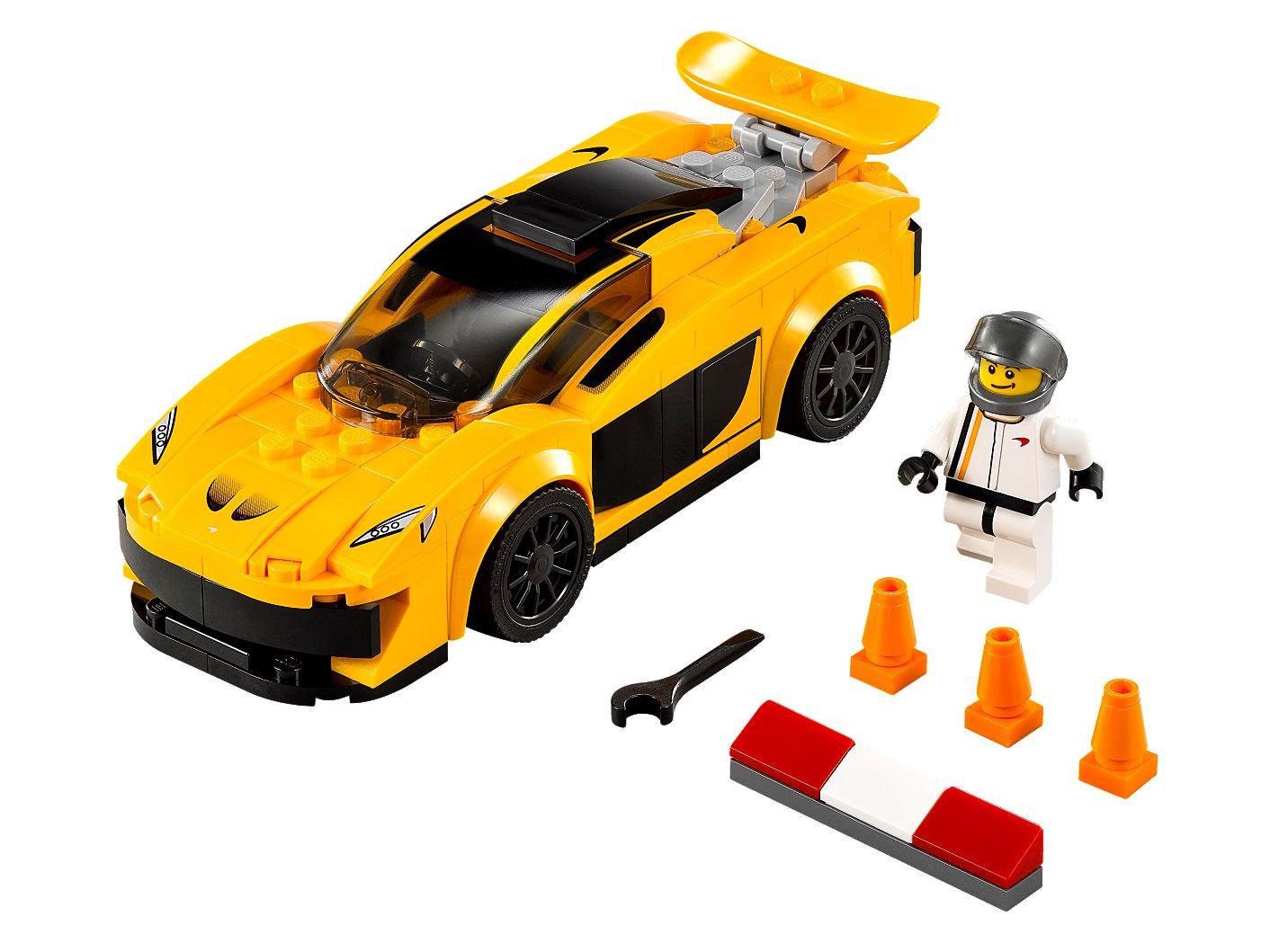 mclaren p1™ - 75909 | speed champions | lego shop