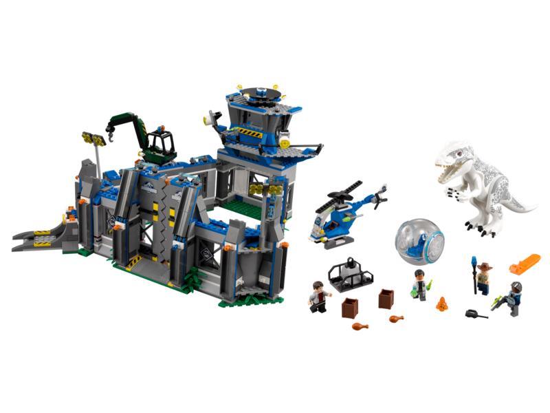 Lego Minifigure Dr Wu Jurassic World Brand New And Sealed Free P/&P.