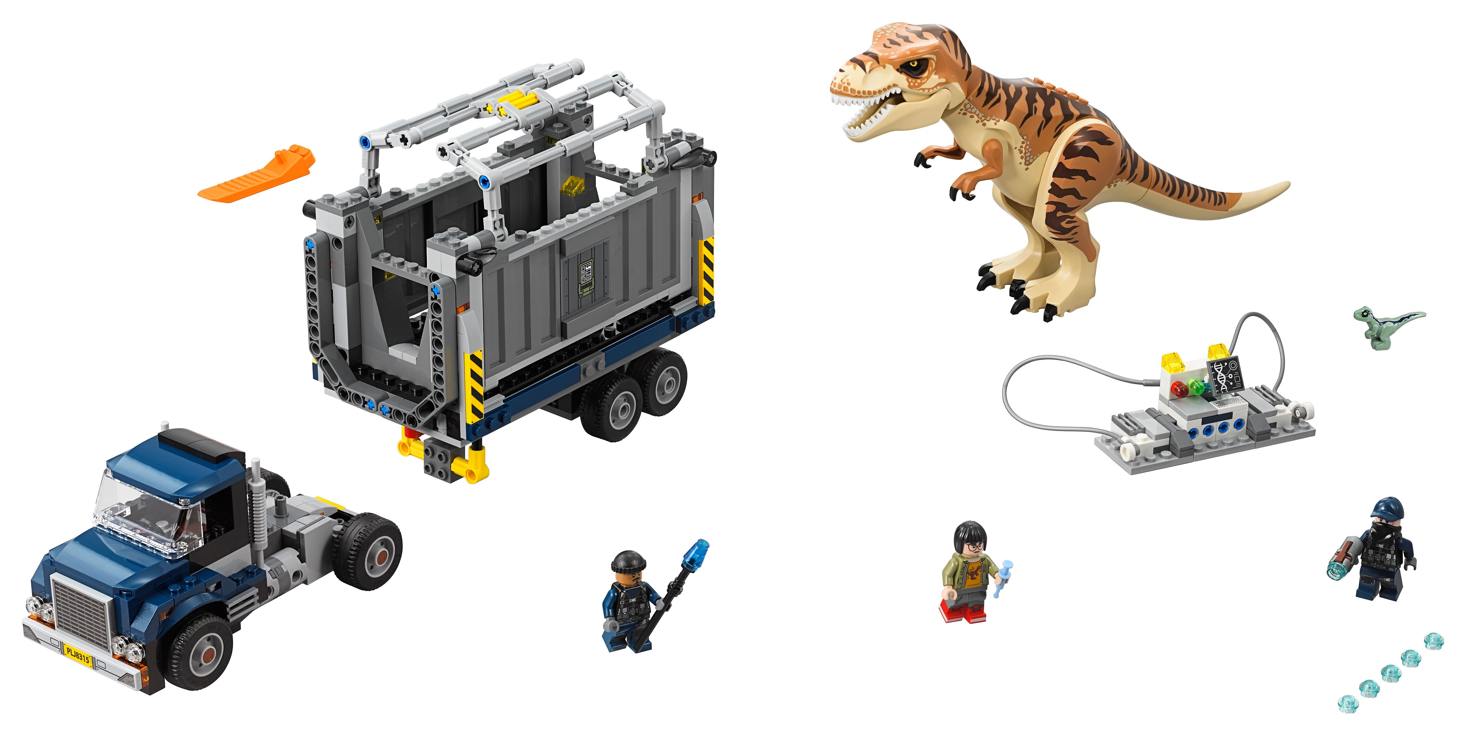 T  rex Transport 75933 | Jurassic World™ | Buy online at the Official LEGO®  Shop US
